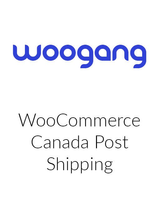 WooCommerce Canada Post Shipping Method
