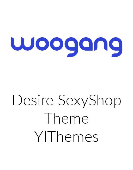 DESIRE SEXY SHOP - Yith WordPress Theme