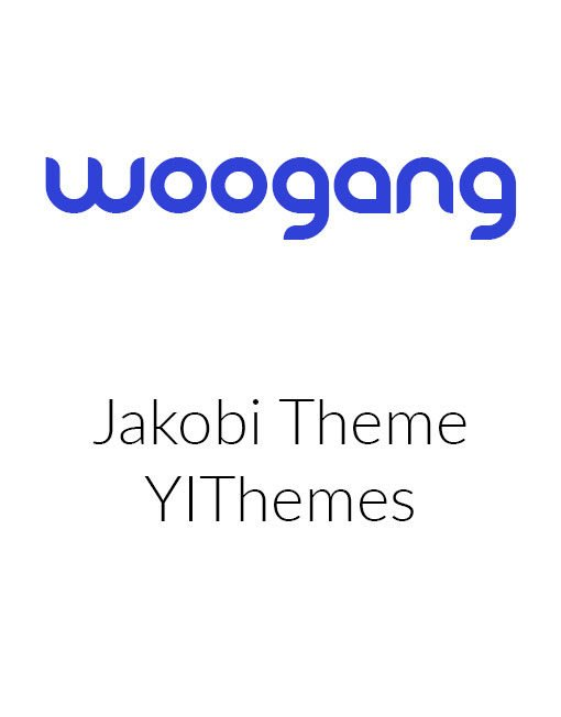 JAKOBI - Yith WordPress Theme