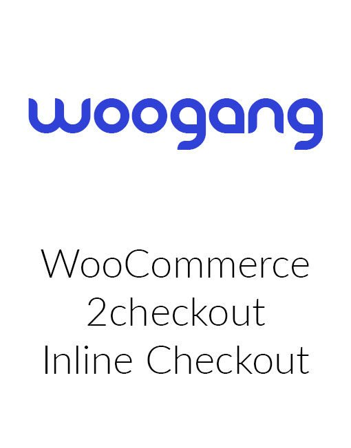 WooCommerce 2Checkout Inline Extension
