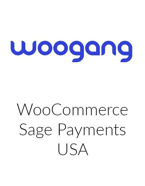 WooCommerce Sage Payments USA