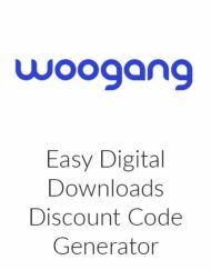 Easy Digital Downloads Discount Code Generator