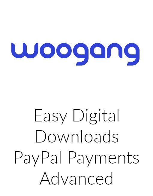 Easy Digital Downloads PayPal Payments Advanced