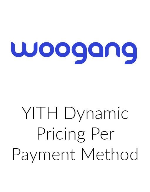 YITH Dynamic Pricing Per Payment Method
