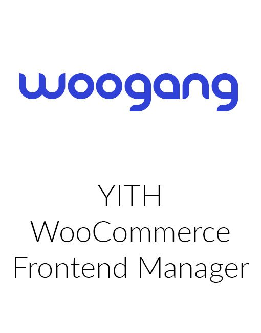 YITH WooCommerce Frontend Manager