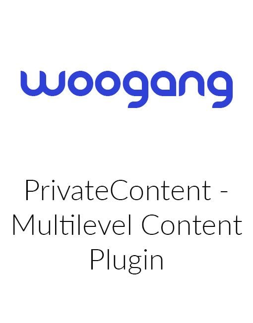 PrivateContent - Multilevel Content Plugin