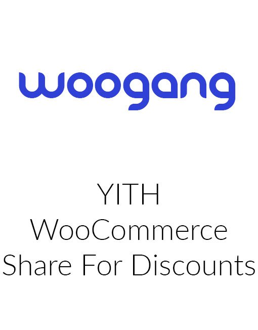 YITH WooCommerce Share for Discounts