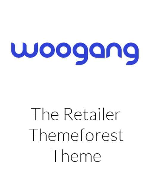 The Retailer - eCommerce WordPress Theme