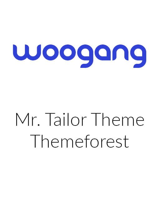 Mr Tailor - Responsive WooCommerce Theme