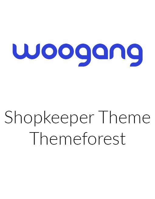 Shopkeeper - Themeforest