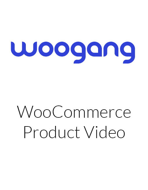 WooCommerce Product Video