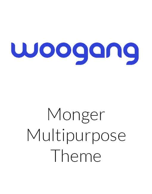 Monger - Multipurpose WordPress Theme