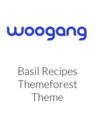 Basil - WordPress Recipes Theme