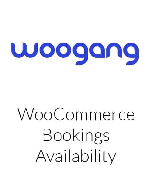 WooCommerce Bookings Availability