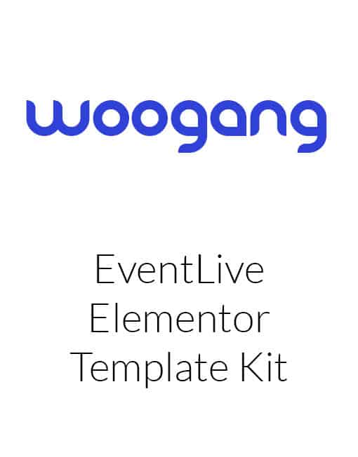 EventLive - Small Conference & Event Template Kit
