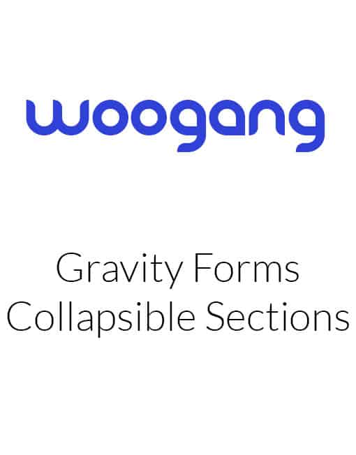 Gravity Forms Collapsible Sections