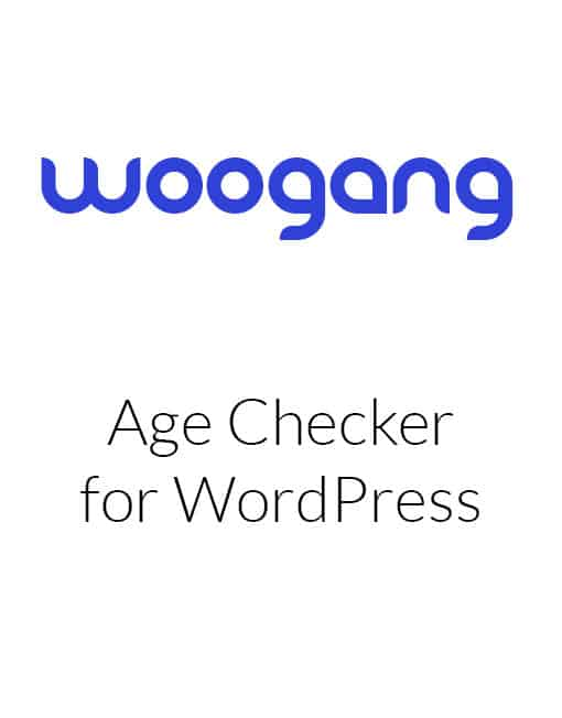 Age Checker for WordPress