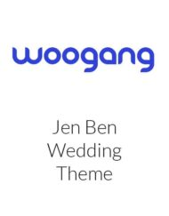 Jen Ben - One Page Wedding WordPress Theme