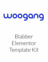 Blabber - Modern Blog & Magazine Elementor Template Kit
