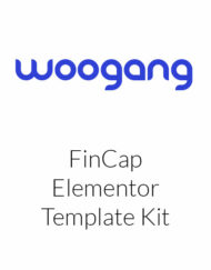 FinCap - Finance Template Kit