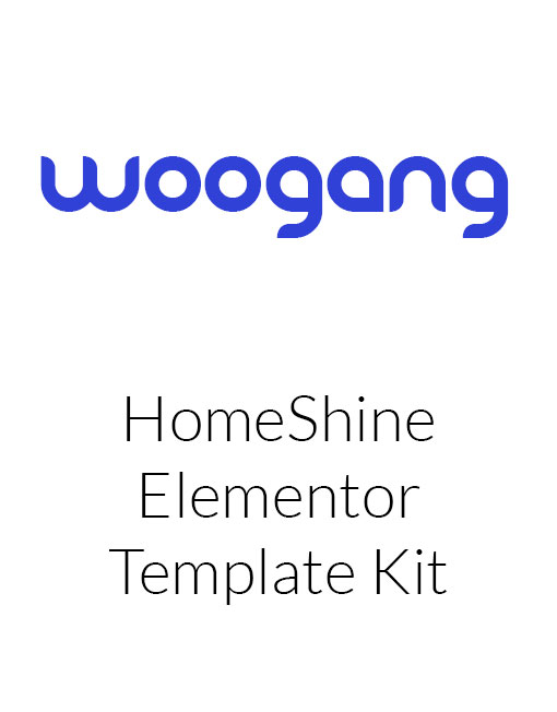 HomeShine - Cleaning & Laundry Elementor Template Kit