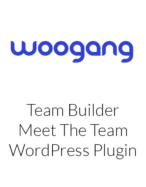 Team Builder - Meet The Team WordPress Plugin