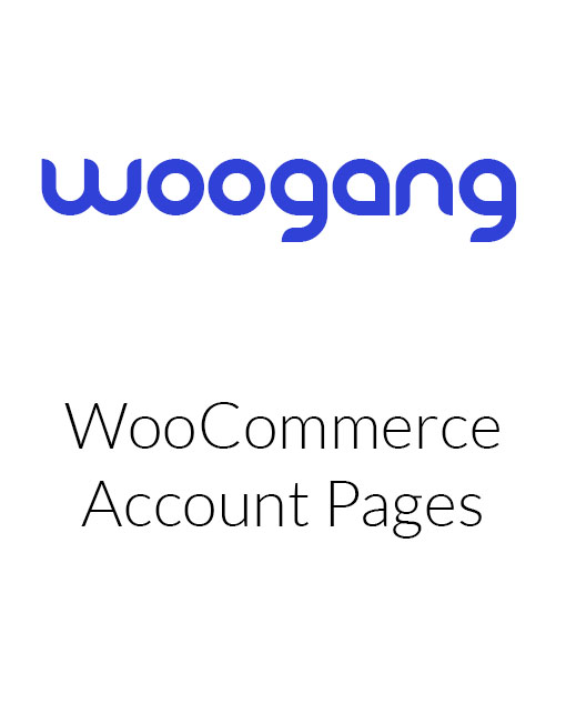 WooCommerce Account Pages