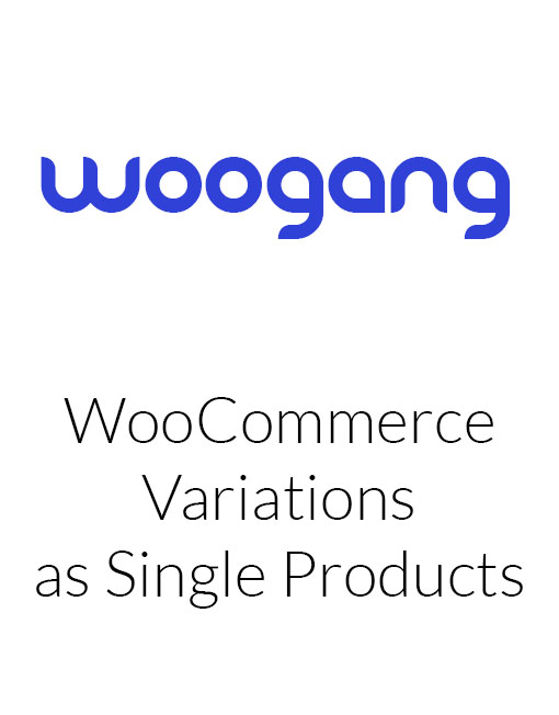 WooCommerce Variations as Single Products